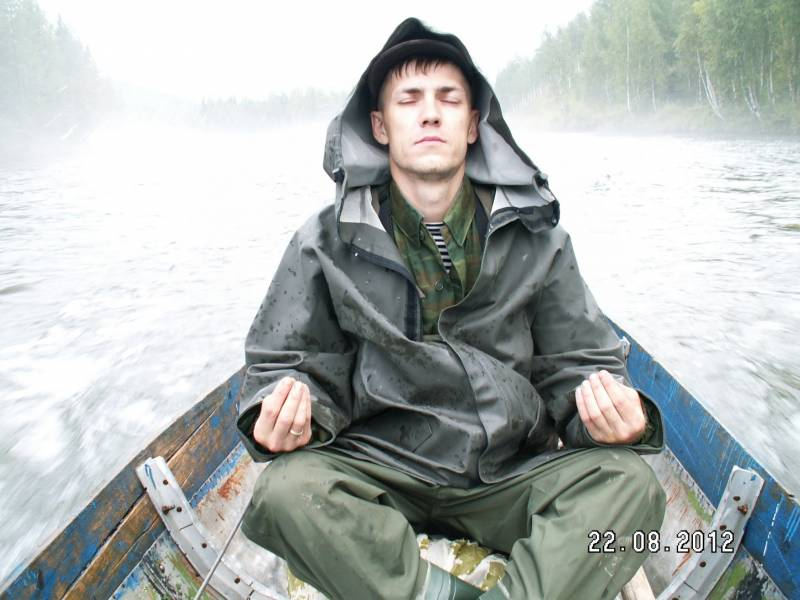 Медитация в предвкушении Тенкара рыбалки