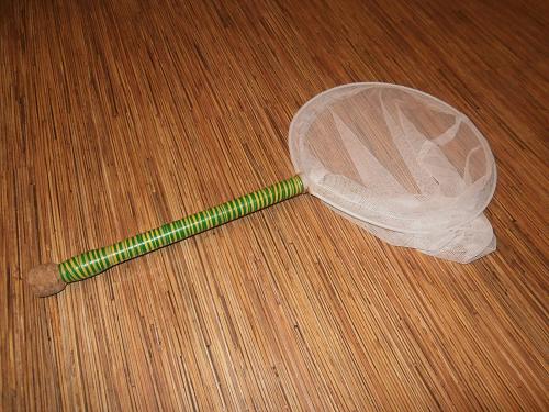 как сделать сачки для ловли бабочек